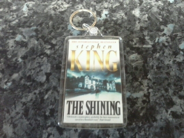 The Shining Jumbo Keyring. Stephen King Book Art. Overlook Hotel